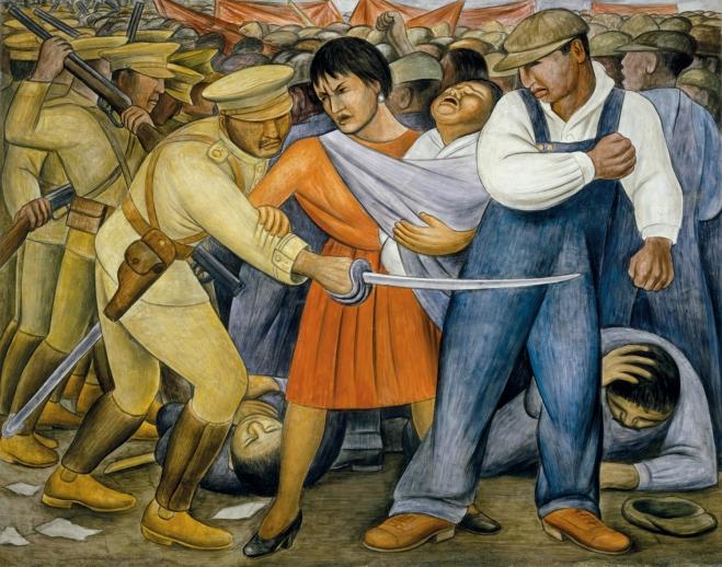 Diego Rivera's The Uprising (1931)